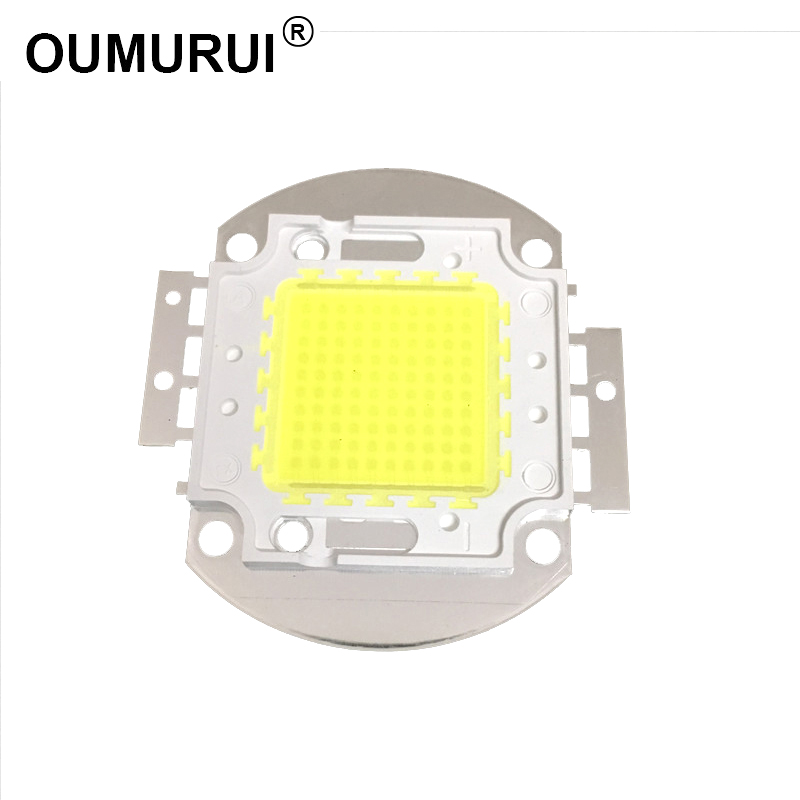 5pcs 100W LED White/Warm White Integrated High power Lamp floodlight 3000mA 32.0-34.0V 10000-11000LM 45mil Chips Free shipping