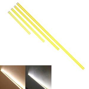 Image 2 - 5PCS LED COB Strip 500mm 6 W 14W 12V แสงหลอดอุ่นสีขาวสำหรับ DIY รถหลอดไฟกลางแจ้งตั้งแคมป์โคมไฟ COB LED