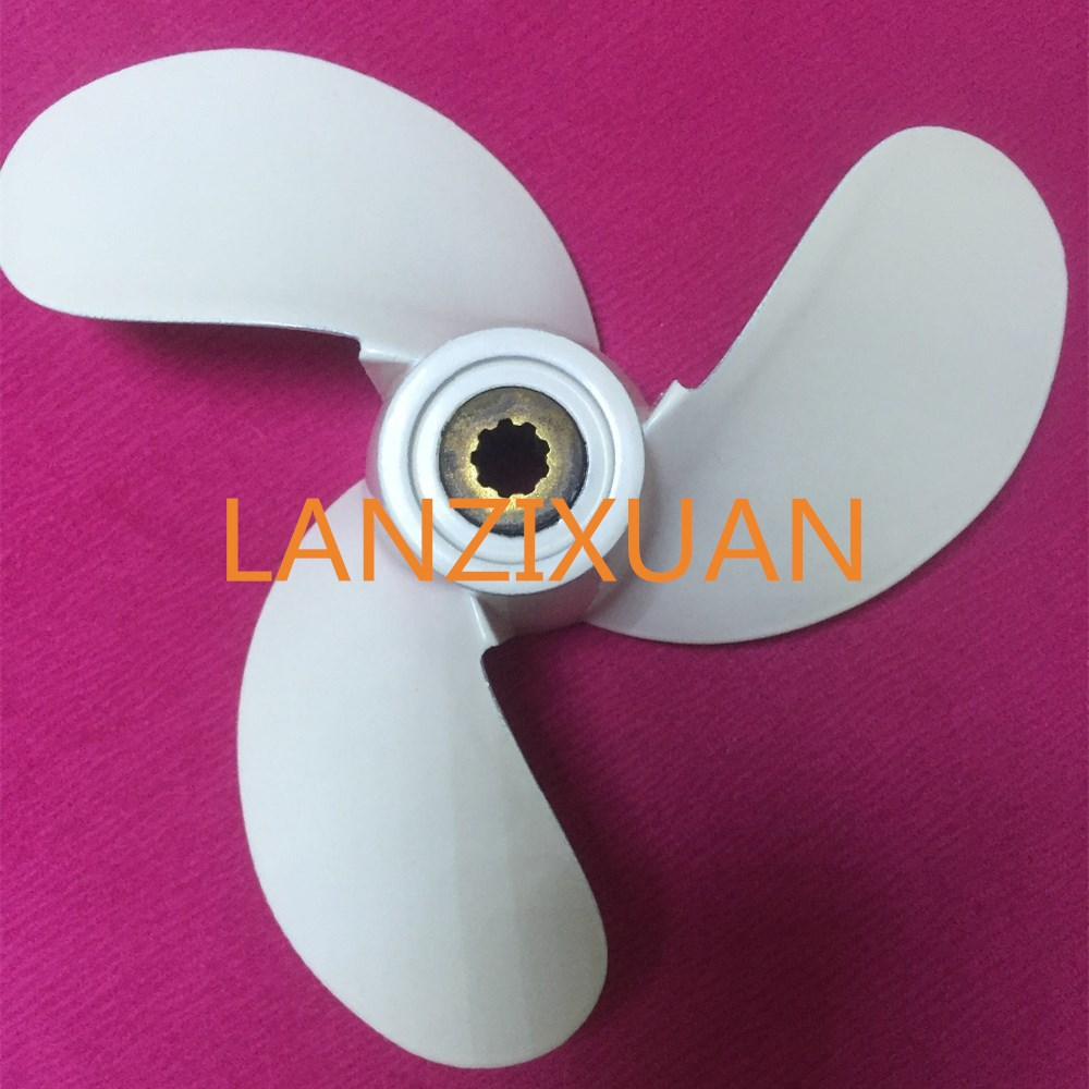 Aluminum Propeller 7 1/4X6-BS for Yamaha 3HP 4HP 5HP F2.5A 3A Malta Outboard Motor 7 1/4X6-BS 7 1/4 X 6 BS
