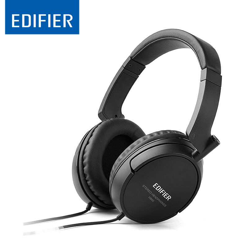 Edifier H840 Noise-isolating headphones to tune out ambience Hi-Fi over-the-ear headphones create powerful sound PK  Bluedio HT