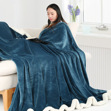 Blanket Lamb Cashmere Flannel Double Autumn and Winter Plus Velvet Thick