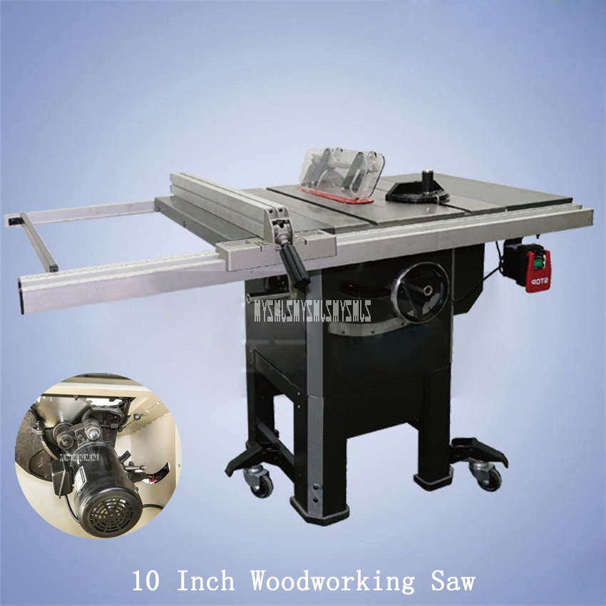 10 inch Multi-function woodworking cutting machine Table Panel Saw 220V 3450RPM circular saw authentic original tajima saw pul265 kch 3 times fast panel saw 265mm woodworking handsaw handsaw