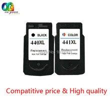 2x PG 440 CL 441 PG-440 CL-441 Cartucho de tinta Compatible para canon pixma mg4140 mg4240 mg3540 mg3240 mg3140 mg2240 mg2140 MX534