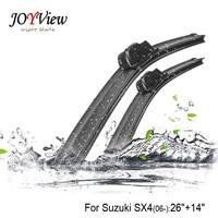 RAINFUN U Hook Size 26 14 Fit For Suzuki SX4 2006 Onwards High Quality Windscreen Wipers