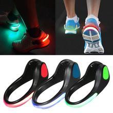 Outdoor LED Gadgets Sports Shoe Luminous Light Night Clip Cl