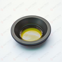 USA F Theta Scanning Lens for CO2 laser --- Single Element Made of ZnSe ( 110x110mm Scan Field , 48mm Diameter)