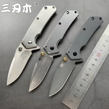 Sanrenmu 7056 série bolso faca dobrável 8cr14mov lâmina ao ar livre tático acampamento caça sobrevivência ferramenta de pesca portátil ecd