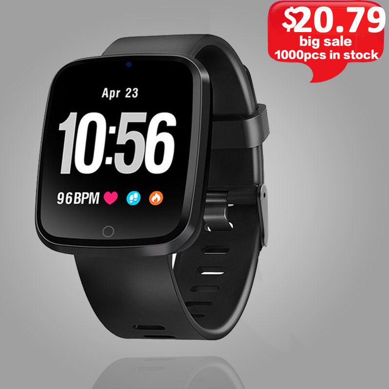 все цены на V6 Smart Watch Color Screen Smart Band Heart Rate Monitor Fitness Tracker Bluetooth Smart Wristband Sports Men Smartwatch. онлайн