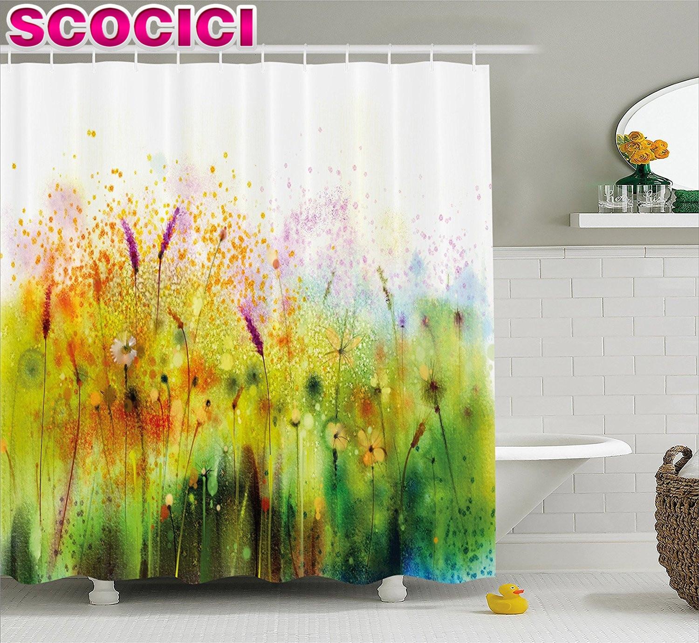 online get cheap shower curtain bathroom violet -aliexpress