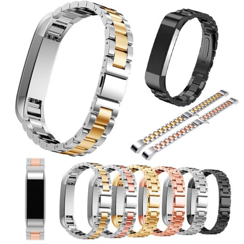 HL Stainless Steel Watch Band Wrist strap For Fitbit Alta Smart Watch drop shipping oct23