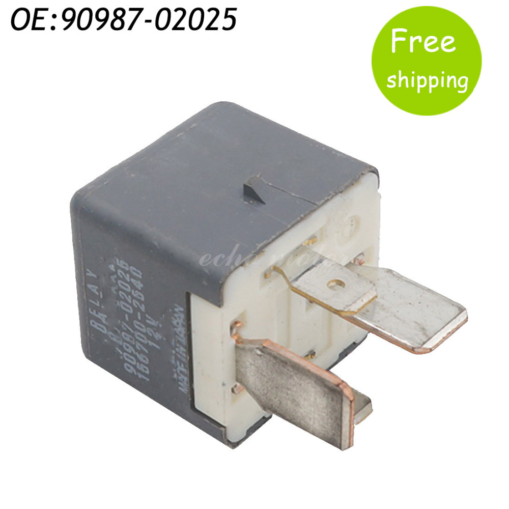 90987-02025 Auto Replace Relay for Toyota Landcruiser Lexus IS350 IS250 IS220 GS300 GS43 ...