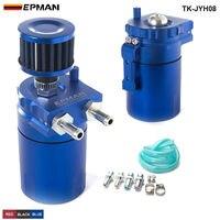 EPMAN Sport Universal Aluminum Oil Catch Can Reservoir Tank 400ml Breather Filter TK JYH08