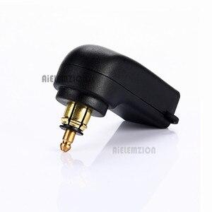 جديد 12-24 V 4.8A دراجة نارية شاحن USB مزدوج الطاقة ل BMW هيلا الدين التوصيل DIN هيلا Powerlet التوصيل إلى شاحن USB مزدوج محول