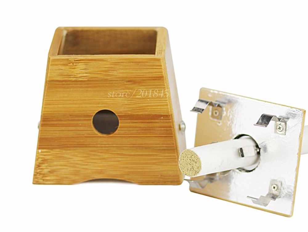 5 Pcs Monocular Moxibustion Box Bamboo Moxibustion Pot Moxa Burner Acupuncture Chinese Traditional Massage Device moxibustion of traditional chinese medicine portable acupuncture box smoke free body care massage