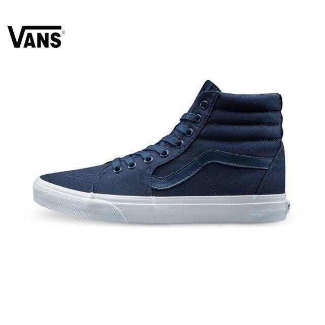 8f8ffa2f61 Original Vans New Arrival Blue Men s Skateboarding Shoes Sports Shoes  Sneakers