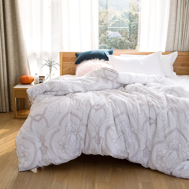 2018 Bohemian Print Thick Winter Comforter Quilting Sanding Cotton