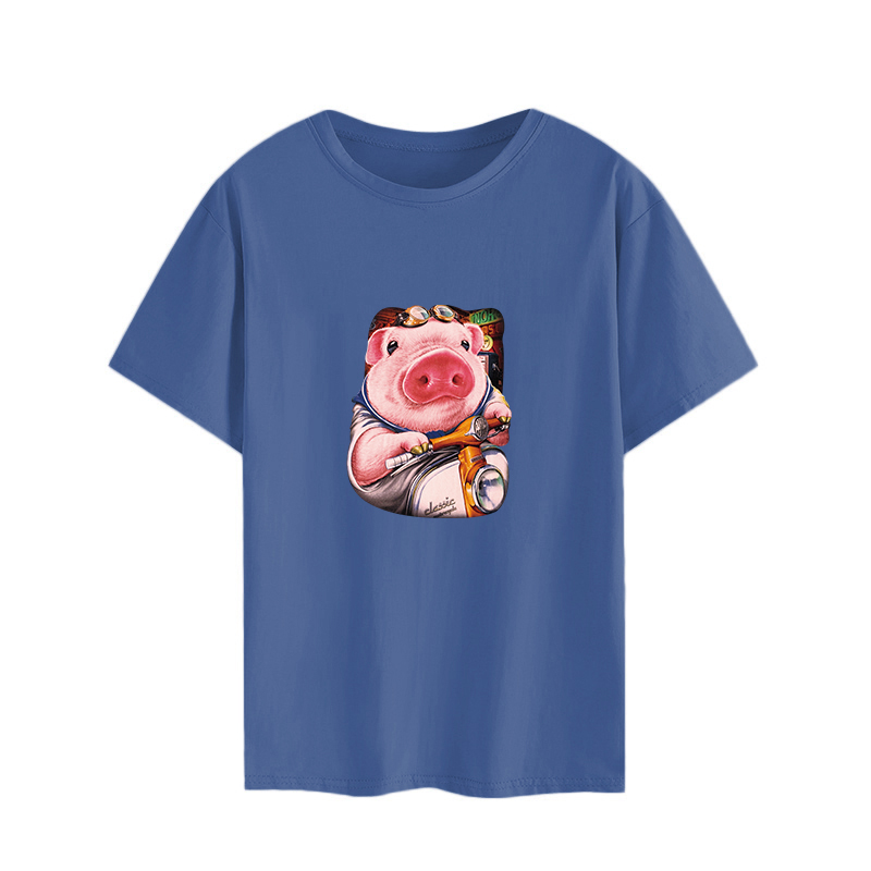 Fashion T Shirt Cute Women Big Plus Size Tshirt Femme Print Picture T Shirt Top White Female Tops Short Tee Shirt Funny Girl in T Shirts from Women 39 s Clothing