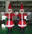 3 m inflable bailarín de Navidad de santa claus para la decoración