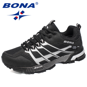 Image 2 - BONA New Classics Style Men Running Shoes Outdoor Walking Jogging Sneakers Lace Up Mesh Upper Athletic Shoes Fast Free Shipping