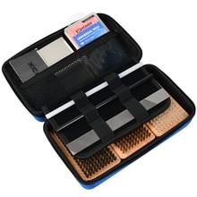 XCMAN Лыжный Сноуборд воск и тюнинг полный набор кистей-нейлон, латунь, щетка из конского волоса металлический скребок для удаления парафина и PTEX Flate Fi