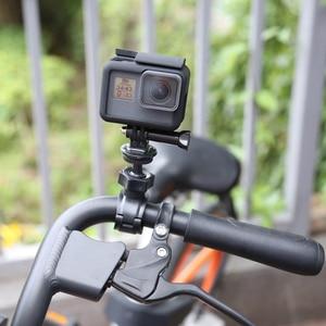Image 1 - לירות O צורת מהדק כידון הר עבור GoPro גיבור 9 8 7 6 5 שחור Xiaomi יי 4K Sjcam sj4000 Eken רכיבה על אופניים Pro עבור 9 אבזר