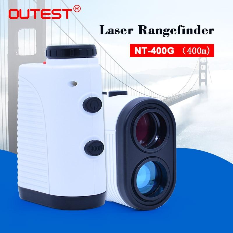MAIS Golf Laser rangefinder caça 400 M 7X Telescópio Monocular laser Range Finder Medidor de Distância A Laser fita Métrica Roulet