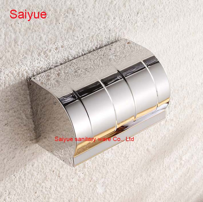 Hot Long Charming Creative Stainless Steel wall Mounted Bathroom Accessories Toilet Paper Holder Tissue Roll porte-papier Box stainless steel toilet tissue roll box wall mounted bathroom paper holder sturdy practical and user friendly