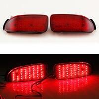 Multi LED Reflector Rear Tail Light Bumper Brake Lamp For Toyota Estima