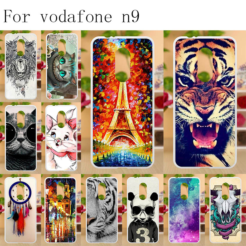 Anunob Capa Para Vodafone Smart N9 Case Silicone Soft TPU Painting for VDF729 Cover Bags