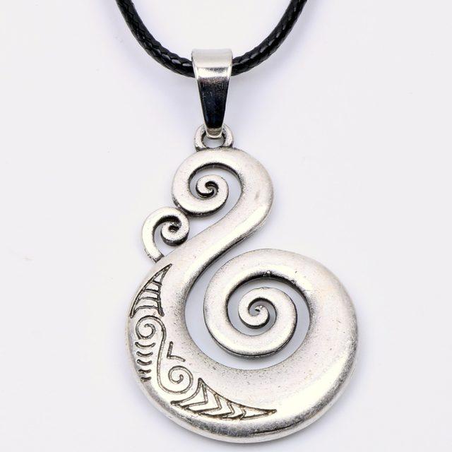 Online Shop Traditional Maori Koru Necklace Pendant Love Symbol