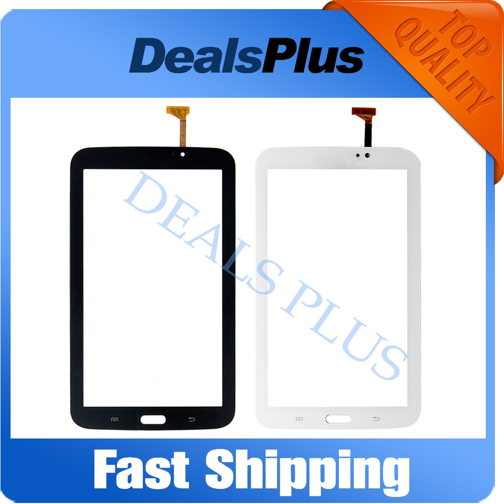 Replacement New Touch Screen Digitizer Glass For Samsung Galaxy Tab 3 7.0 SM-T210 T210 P3210 7-inch Black White Free Shipping free tools replacement for samsung galaxy tab s 10 5 sm t800 touch screen digitizer replacement white track code