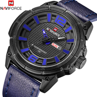 NAVIFORCE Top Luxury Brand Watches Men Military Sports Quartz Watches Fashion Casual Auto Date Week 3ATM