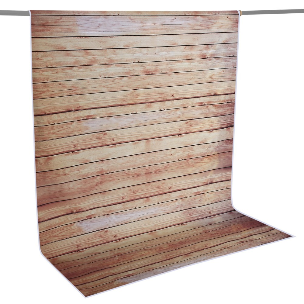 Neewer 5x7ft/152x213cm 100% Polyester Striped Wooden Backdrop Background for Photography Studio Video Shooting (Backdrop Only!)