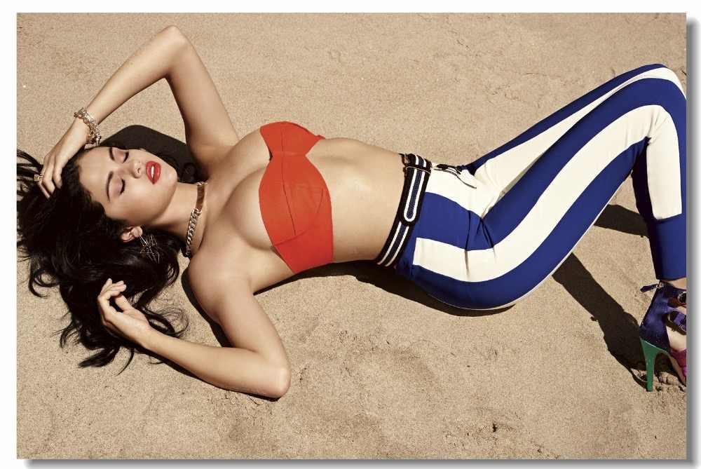 Consider, giantess selena gomez bikini let's not