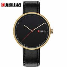 Montres Hommes Marque De Luxe CURREN Montres À Quartz Hommes En Cuir Montre Casual Montre-Bracelet Homme Horloge relojes hombre