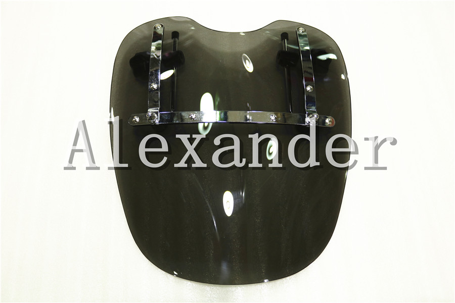 Free Shipping Brand New Motorcycle Windshield Windscreen For Harley Davidson Sportster Dyna Glide Softail XL 883