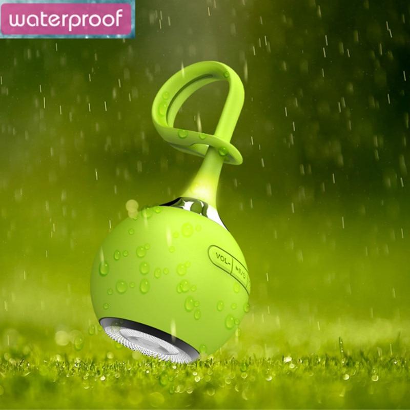 Kauczuku Wodoodporny Mini Przenośny Prysznic Bezprzewodowy Głośnik