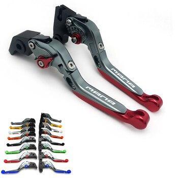 Motorcycle Folding Extendable CNC Adjustable Clutch Brake Levers For Aprilia MANA BRAKE ONLY 2007-2012 2008 2009 2010