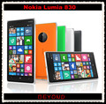 Nokia Lumia 830 Original Unlocked Windows Mobile Phone 8.1 GSM 3G&4G Quad-core 5.0'' 10MP WIFI GPS 16GB internal Storage