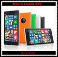 Nokia lumia 830 original desbloqueado windows mobile 8.1 gsm 3g y 4g quad-core 5.0 ''10mp wifi gps 16 gb de almacenamiento interno