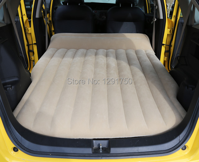 Car Travel Bed Inflatable Mattress For Honda Fit Civic Unflattering Beige In Automobiles Seat Covers From