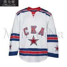 MeiLunNa Custom KHL SKA Saint Petersburg Jerseys 13 Pavel Datsyuk 17 Ilya  Kovalchuk 30 Igor Shestyorkin Sewn On Any Name NO. b9cbd7fa5