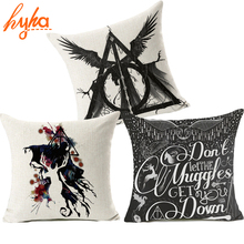 Harry Potter Style Cushion Cover