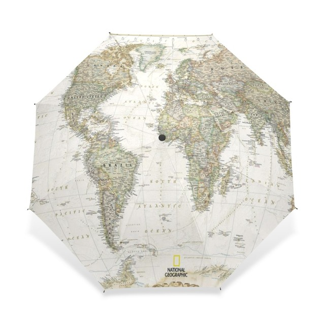 2017 womens mens vintage world map umbrella parasol automatic 3 2017 womens mens vintage world map umbrella parasol automatic 3 folding sun rain women protection windproof gumiabroncs Gallery