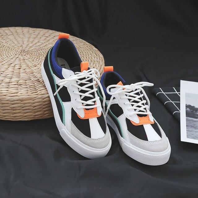 Yeni Marka kadın Tuval düz ayakkabı 2018 Moda Lace Up Kadın Spor Ayakkabı Kadın Rahat Rahat Daireler Ayakkabı
