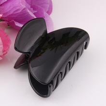 2 PIECES Plastic Butterfly Hair Claws With Tines Making Accessories New Fashion Clip strong bite hair clamps 6*4.5CM