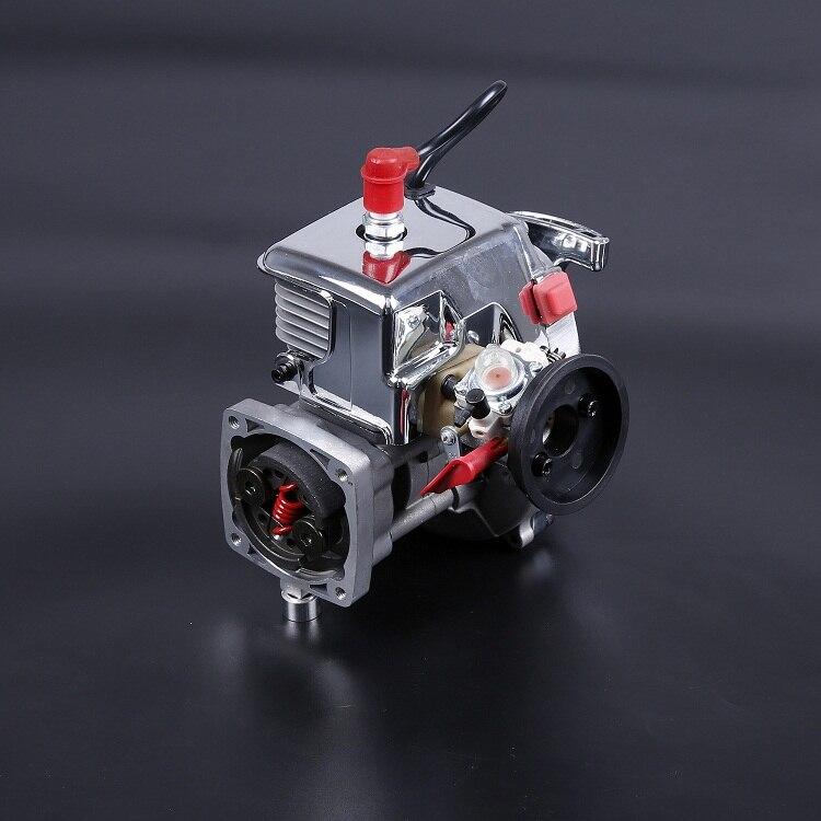 Baja 4 болта 30.5cc хромированный двигатель с Walbro 668 карбюратор и NGK sparkplug для 1/5 весы HPI КМ Baja 5B 5T 5SC-81010
