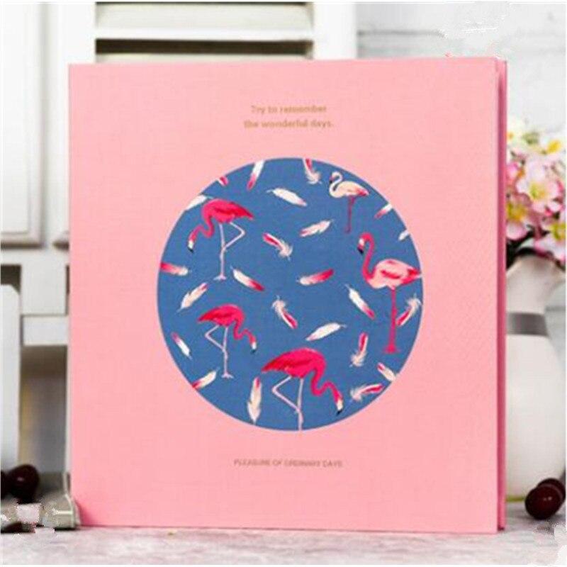 Creative DIY paste type covered DIY Gallery Polaroid album gift lovers baby photo album