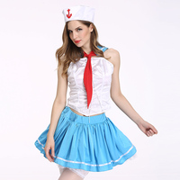 Sexy Sailor Costume Halloween Costume Woman Role Playing Navy Costume Lady Erotic Performance Clothes Cosplay Sexy
