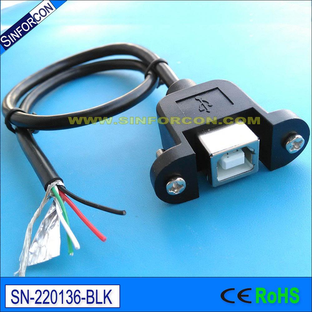 20 սմ usb2.0 տիպի բ կին է մինի USB մալուխ USB bf - Համակարգչային մալուխներ և միակցիչներ - Լուսանկար 3
